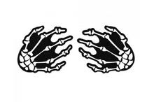 Skeleton Hands Pasties