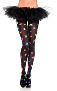 Multicolored MJ Tights