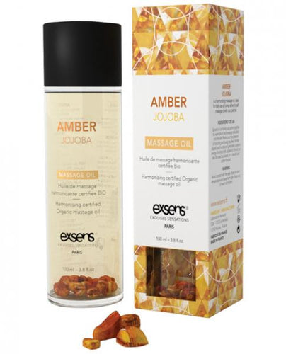 Amber Jojoba Massage Oil by Exsens Of Paris
