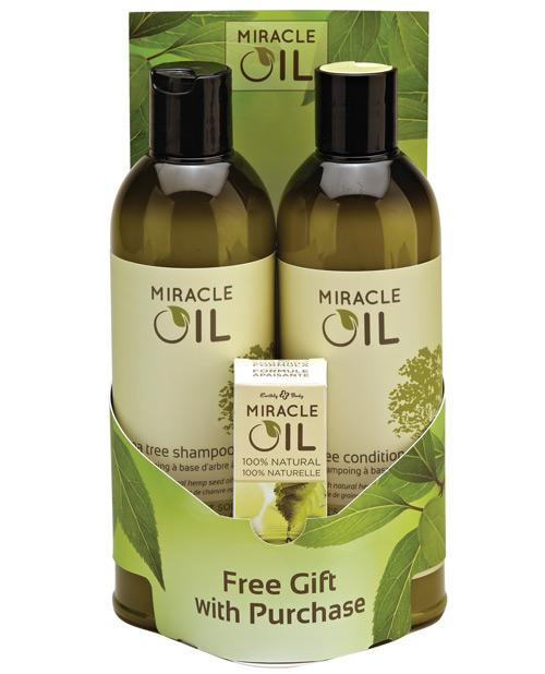 Earthly Body Miracle Oil Shampoo & Conditioner