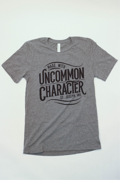 T-Shirt - Unisex Gray, Round neck