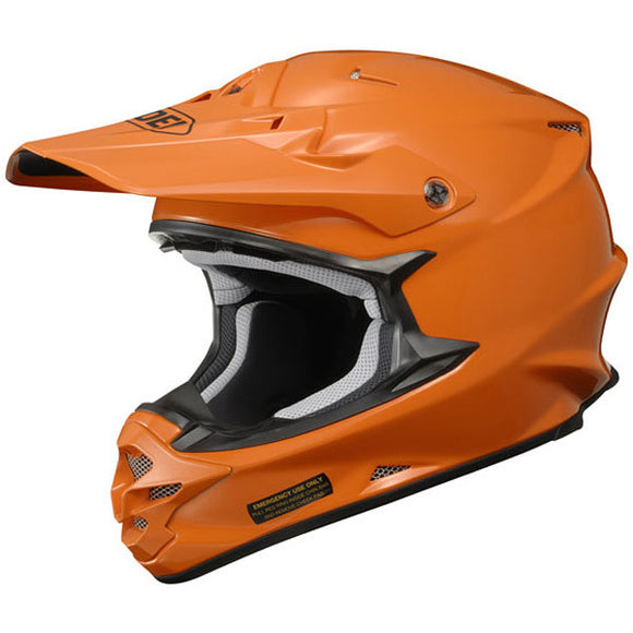 Shoei VFX-W Pure Orange Motocross Helmet