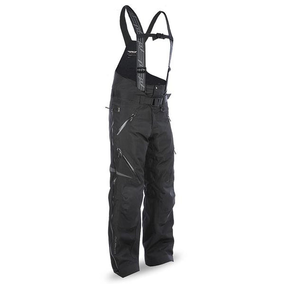 Fly Racing Carbon Men's Black Snowmobile Bib