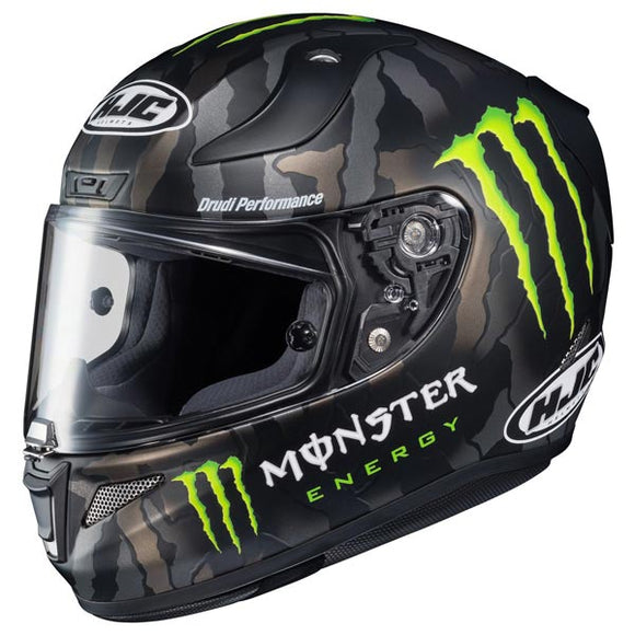 HJC RPHA-11 Pro Monster Energy Military Camo Full Face Helmet