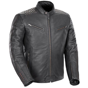Joe Rocket Vintage Rocket Men's Black Leather Jacket