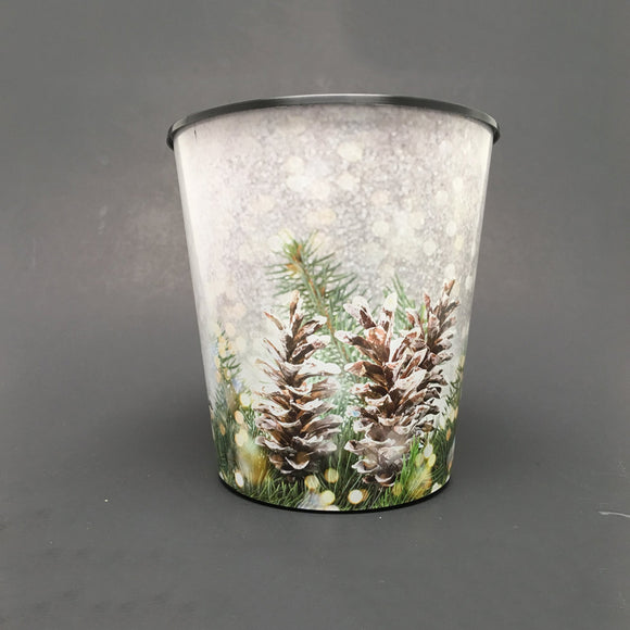 Drop-In or Grow-In IML Pot - Fir Pine Cone