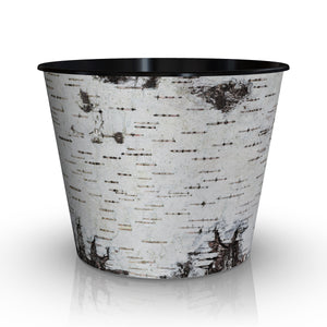 Grow or Drop-In Flower Pot Birch Design