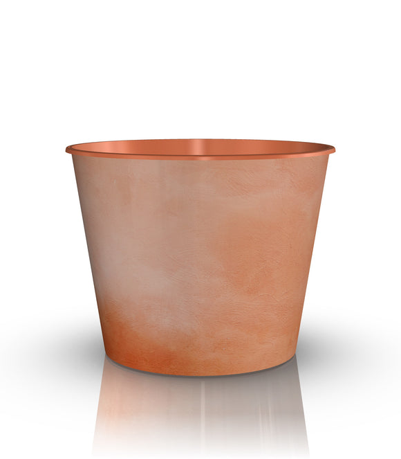 Grow or Drop-In Flower Pot Terra Cotta Light Weight