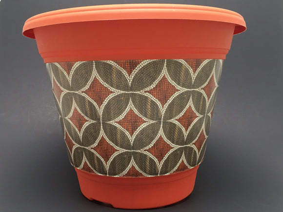 Premium IML Custom Design - Terra Cotta