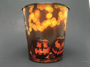 Drop-In or Grow-In IML Pot - Jack O Lantern