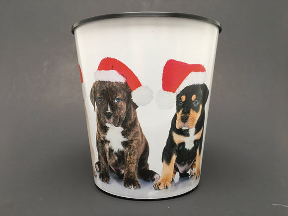 Drop-In or Grow-In IML Pot - Christmas Dogs
