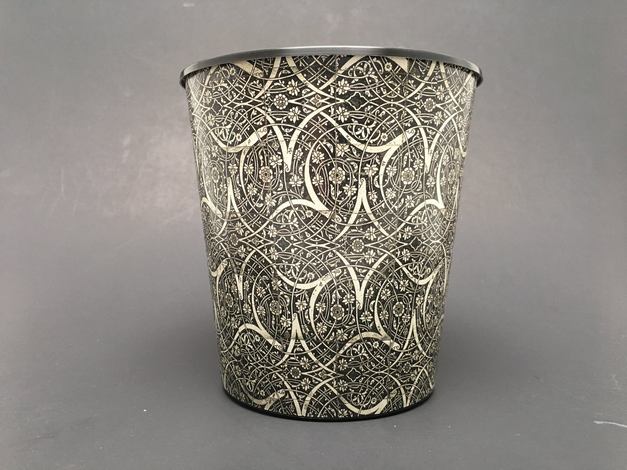 premium iml custom design etched metal davinci decorated pots