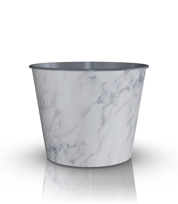 Drop-In or Grow-In IML Pot - Grey Marble (NEW 2018)