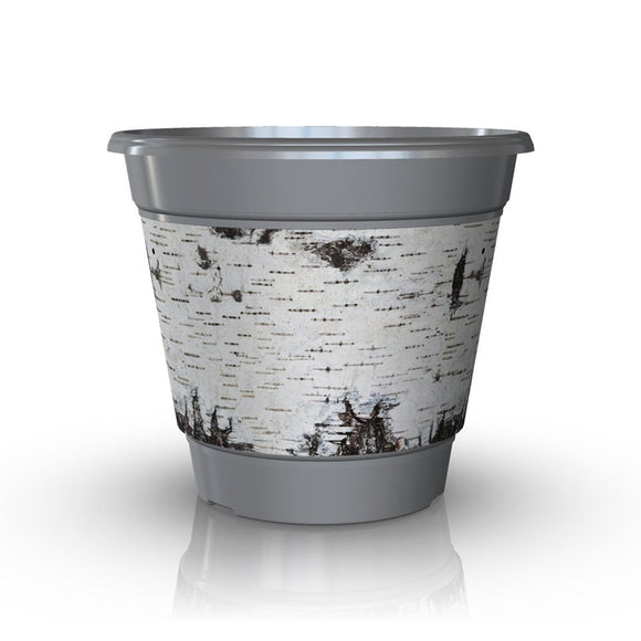Premium IML Decorated Patio Pot - BIRCH (NEW 2018)