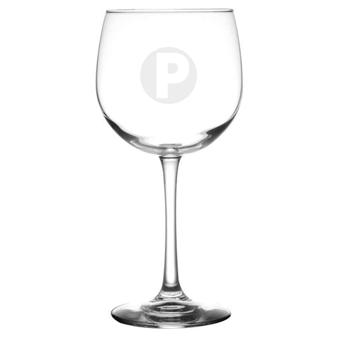 PRINCETON LOGO WINE GLASS