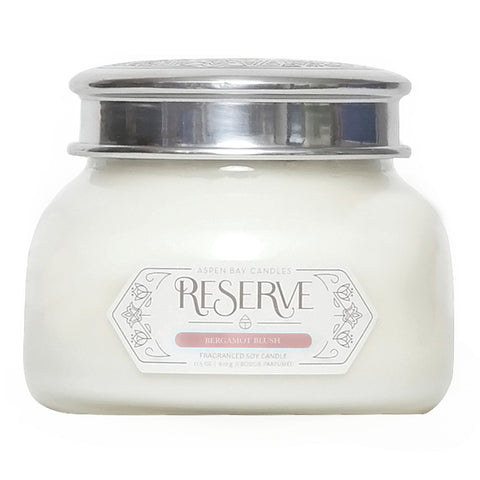 BERGAMOT BLUSH CANDLE (RESERVE SIGNATURE JAR)