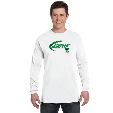 "EAGLES ""PHILLY PHILLY"" LONG SLEEVE T-SHIRT FOR CHARITY"
