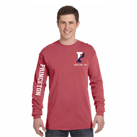 SOFT RED COMFORT LONG SLEEVE T-SHIRT