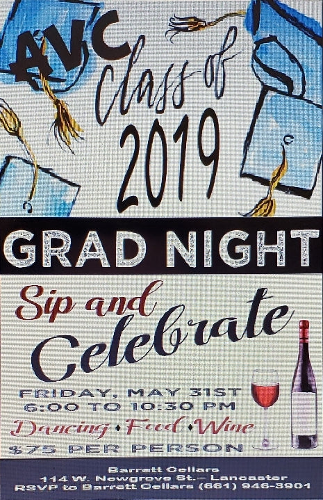 AVC Grad Night 2019 - Sip & Celebrate