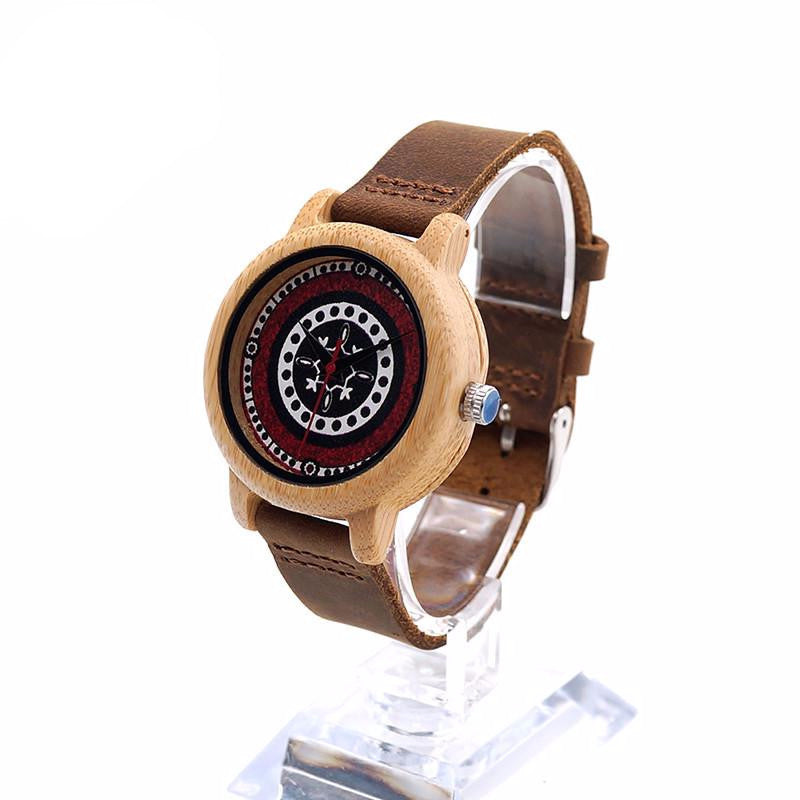 BOBO BIRD J19 Bamboo Wooden Watch Women