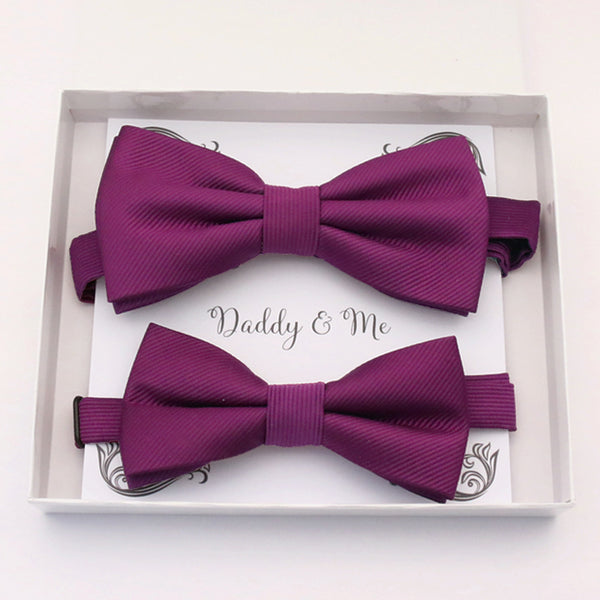 Berry Bow tie set daddy son, Daddy and me gift Grandpa and me, Father son matching, Kids bow tie, Kids adult bow tie, High quality