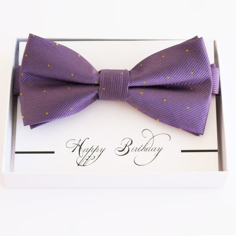 English lavender bow tie Best man Groomsman Man of honor ring bearer request Birthday gift, Kids adult bow, Adjustable Pre tied High quality
