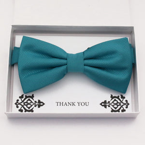 Teal blue bow tie Best man Groomsman Man of honor ring bearer request gift, Kids adult bow, Adjustable Pre tied High quality, Birthday Congrats