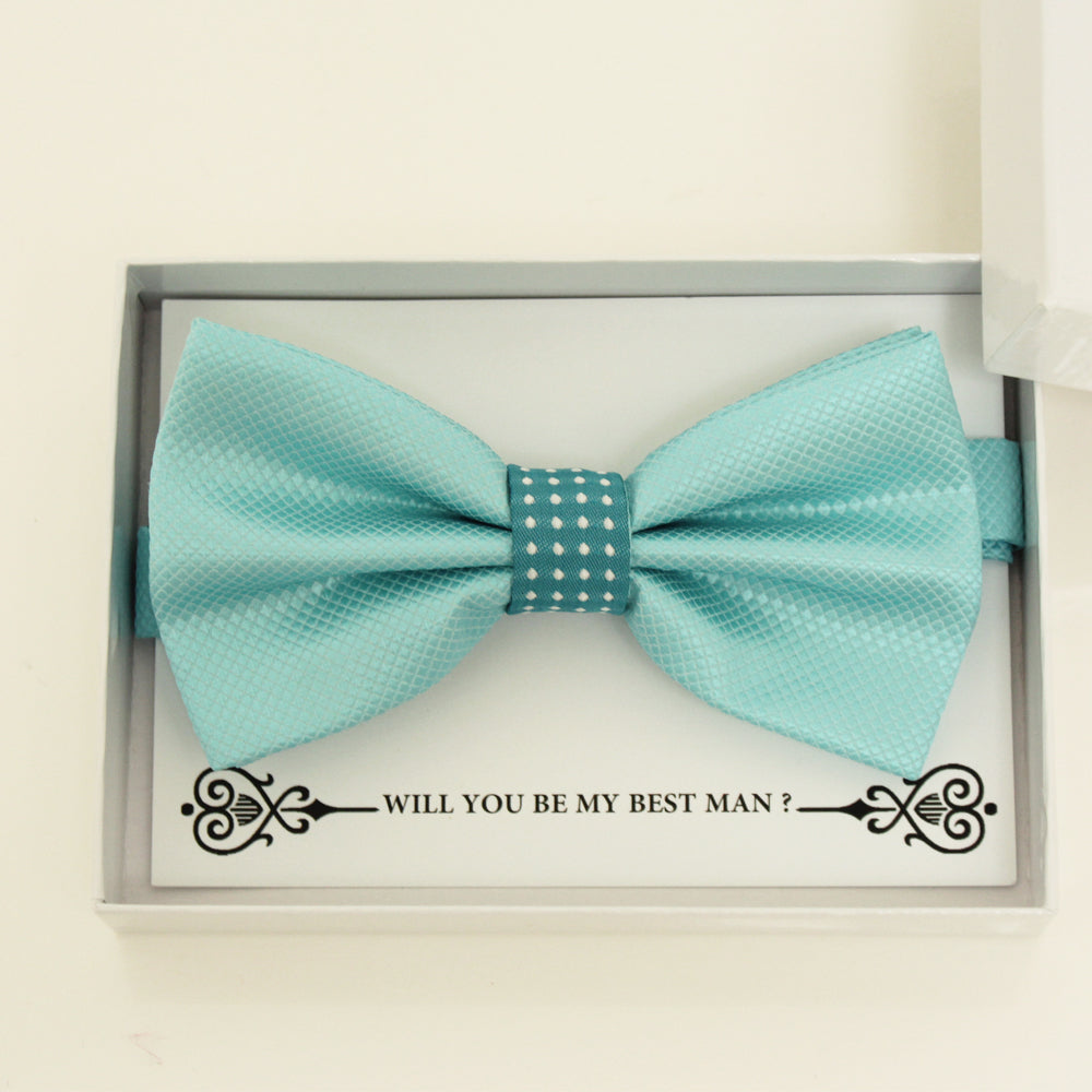 Blue bow tie, Best man request gift, Groomsman bow tie, Man of honor gift, Best man bow tie, some thing blue, Best man bow tie, Handmade
