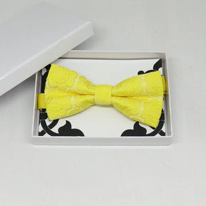 Yellow bow tie, Best man request gift, Groomsman bow tie, Man of honor gift, Best man bow tie, best man gift, man of honor request, thankyou