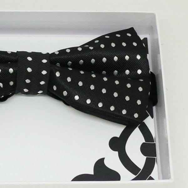 Black White bow tie, Best man request gift, Groomsman bow tie, Man of honor bow, Best man bow, best man gift, man of honor bow, Ring bearer