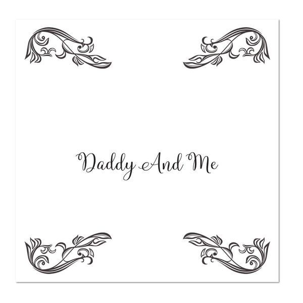 Daddy and me bow tie, Daddy and me gift set