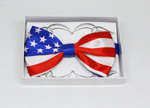 American Flag bow tie, USA Flag bow tie, Flag bow tie, best man gift, 4th of july, thank you