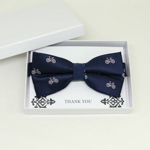 Navy bow tie, Best man request gift, Groomsman bow tie, Man of honor gift, Best man bow tie, best man gift, Ring bearer request, thank you