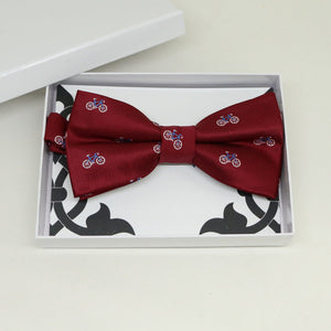 Red bow tie, Best man request gift, Groomsman bow tie, Man of honor gift, Best man bow tie, best man gift, Ring bearer request, thank you