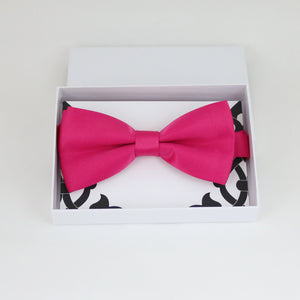 Hot pink bow tie, Best man gift , Groomsman bow tie, Man of honor gift, Best man bow tie, best man gift, man of honor request, Ring bearer