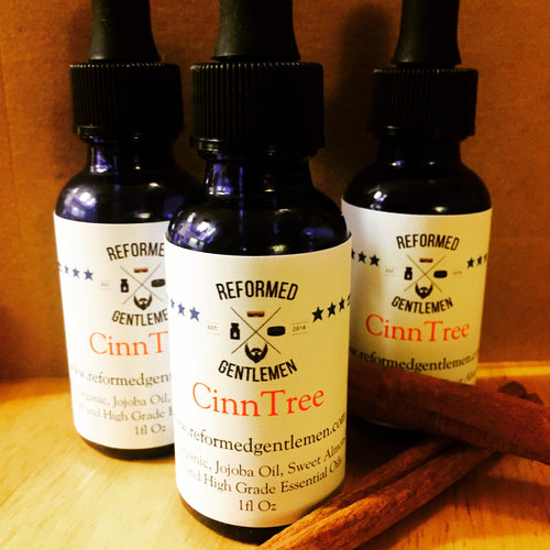 CinnTree Beard Oil (Fall and Winter Blend)