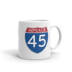 Impeach 45 Interstate Mug