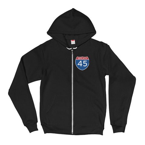 Impeach 45 Power to Impeach Hoodie