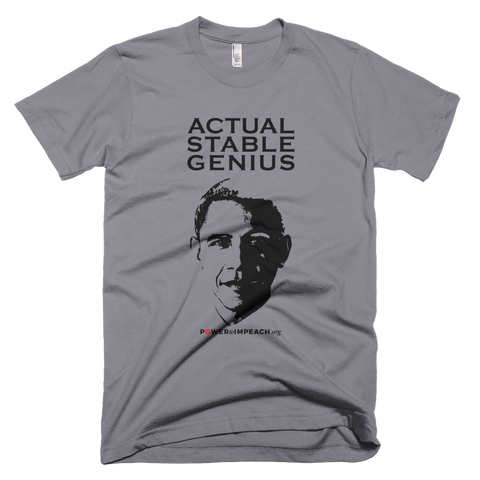 Obama Actual Stable Genius T-shirt