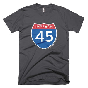 Impeach 45 Interstate T-shirt