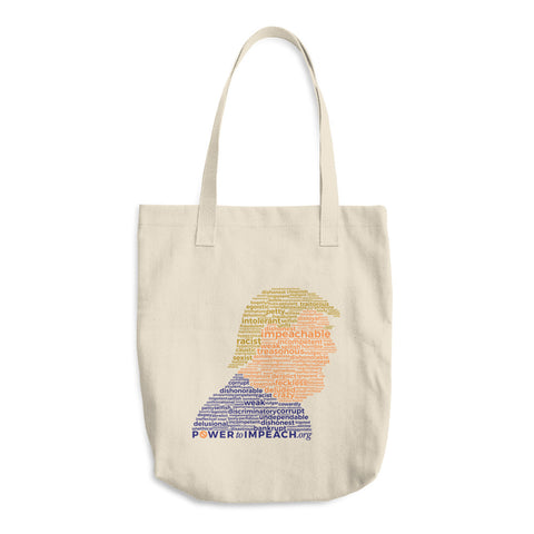 Impeachable Word Cloud Tote Bag