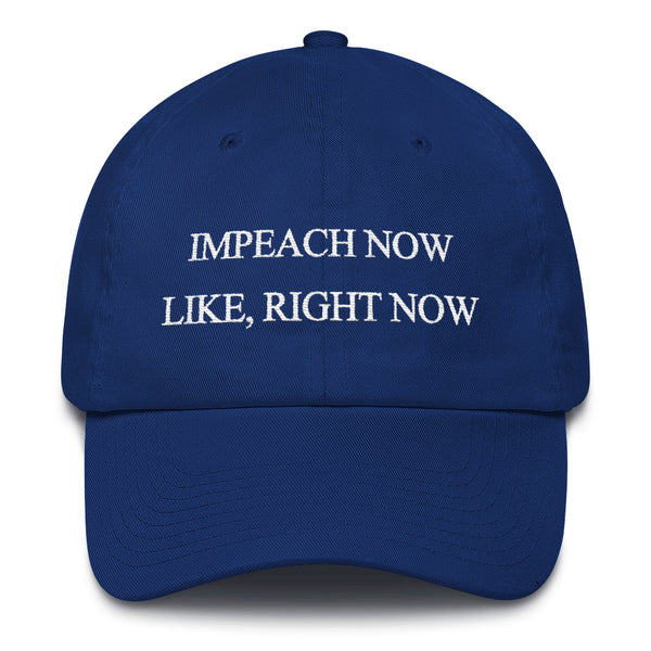 Impeach Now Hat