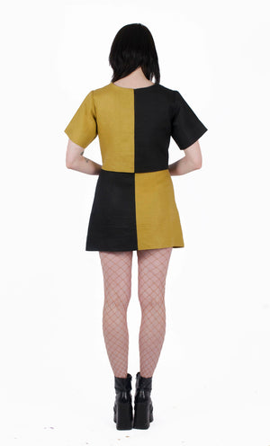 GRDN VVITCH Chess Dress