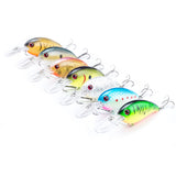 Floating Bass Crankbait Family (7 Pack)