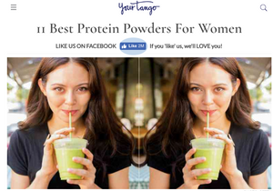 Your Tango | 11 Best Protein Powders For Women