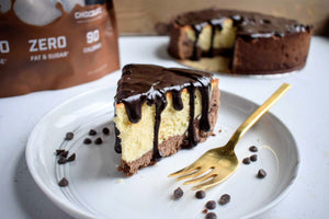 VADE Cookie Dough Cheesecake: