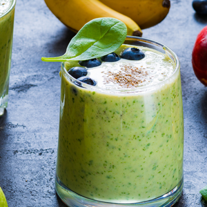 Tropical Kale Green Protein Smoothie