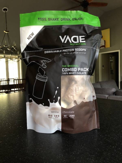"""Convenient Nurition: Protein Pods"" 