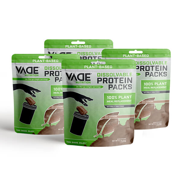 VADE Nutrition 100% whey isolate Protein sugar free
