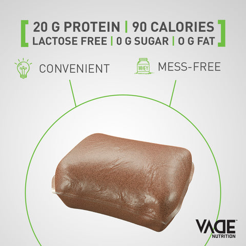 SHOP - 100% Whey Isolate Protein - Sample Pack – VADE Nutrition